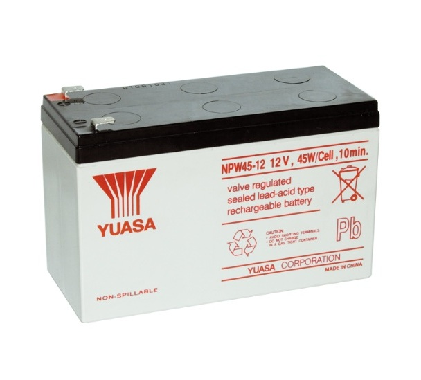 Yuasa 12v sealed lead acid battery 7ah ups