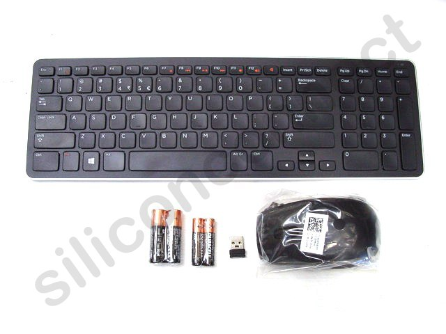 dell km713 wireless cordless keyboard mouse set combo kit us layout j1g7n new ebay. Black Bedroom Furniture Sets. Home Design Ideas
